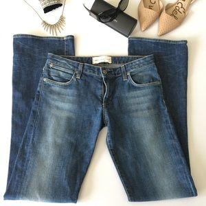 Paper Denim Cloth boot cut/slight flare